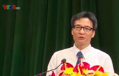 Phó Thủ tướng Vũ Đức Đam làm việc với tỉnh Hà Tĩnh