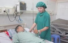 Người đàn ông thoát chết khi bị đứt động mạch cổ