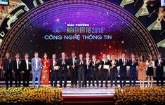 """""""Nhân tài đất Việt 2018"""" vinh danh 2 sản phẩm thuộc lĩnh vực CNTT"""