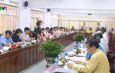 Phó Chủ tịch nước Đặng Thị Ngọc Thịnh làm việc tại Cần Thơ