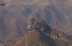 Triều Tiên phá hủy 10 trạm gác tại Khu phi quân sự