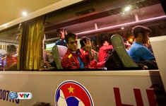 ẢNH: ĐT Việt Nam đã về nước để chuẩn bị cho trận gặp ĐT Campuchia