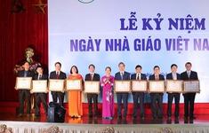 ĐH Quốc gia Hà Nội nhận nhiều danh hiệu cao quý nhân ngày 20/11