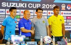 TRỰC TIẾP Họp báo trước trận chung kết lượt đi AFF Cup 2018: ĐT Malaysia - ĐT Việt Nam