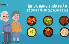 Những hiểu lầm thường gặp về dinh dưỡng ở người cao tuổi