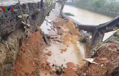 Mưa lớn khiến nhiều khu di tích quốc gia Quảng Trị sạt lở nghiêm trọng