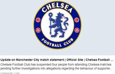 Chelsea tạm cấm cửa 4 CĐV sau hành động nhắm vào Raheem Sterling