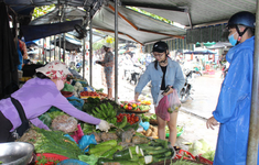 Giá rau xanh Đà Nẵng tăng sau lụt