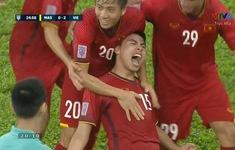 VIDEO: Xem lại cú sút xa tuyệt đẹp nâng tỷ số lên 2-0 của Đức Huy