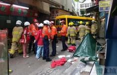 Tai nạn giao thông nghiêm trọng tại Hong Kong (Trung Quốc)