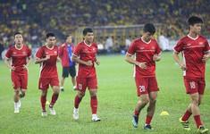 TRỰC TIẾP BÓNG ĐÁ Chung kết lượt đi AFF Cup 2018, ĐT Malaysia - ĐT Việt Nam: Khởi động trước trận