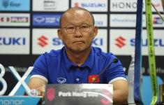 Họp báo sau trận: HLV Park Hang-seo tiếc nuối, HLV Tan Cheng Hoe lạc quan