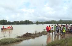 Đã tìm thấy 3 người mất tích do mưa lũ ở Bình Định