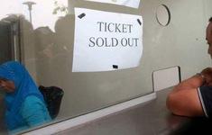 Kỷ lục: Vé chợ đen tại Malaysia lên gần 4,5 triệu đồng/chiếc