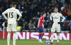 Kết quả bóng đá Champions League sáng 13/12: Real 0-3 CSKA, Valencia 2-1 Man Utd, Young Boys 2-1 Juventus
