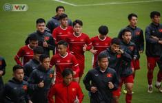 ẢNH: ĐT Việt Nam tập buổi đầu tiên sau khi trở về từ Malaysia