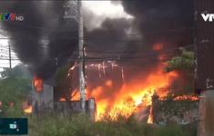 Nguy cơ cháy nổ hiện hữu từ việc tích trữ phế liệu
