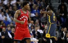 Toronto Raptors chấm dứt 13 năm không thắng tại Oracle Arena