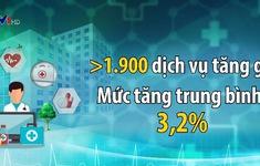 Giá dịch vụ y tế tăng trung bình hơn 3%