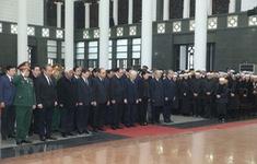 Cử hành trọng thể lễ viếng đồng chí Nguyễn Văn Trân
