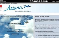 Trang mạng của Bộ Ngoại giao Pháp bị tấn công