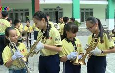 Đội kèn nhí trường học tham gia công diễn nhiều nhất châu Á