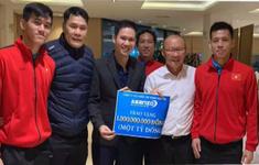Nhiều doanh nghiệp ủng hộ đội tuyển bóng đá Việt Nam
