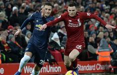 Kết quả bóng đá châu Âu rạng sáng 17/12: Man Utd gục ngã trước Liverpool