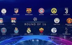 Kết quả bốc thăm vòng 1/8 Champions League: Man Utd, Liverpool gặp khó