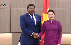 Chủ tịch Quốc hội Nguyễn Thị Kim Ngân tiếp Tổng Thư ký IPU
