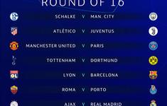 8 cặp đấu vòng 1/8 Champions League 2018/19 lộ diện, người trong cuộc nói gì?