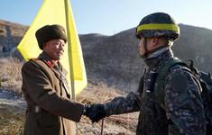 Hai miền Triều Tiên dỡ bỏ các trạm gác tại khu phi quân sự