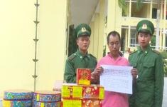 Quảng Ninh: Bắt quả tang người Trung Quốc vận chuyển 34kg pháo nổ
