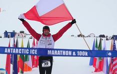 57 thí sinh tham gia chạy marathon ở Nam Cực