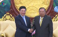 """""""Thắt chặt hơn nữa quan hệ đặc biệt Việt Nam - Lào vì lợi ích hai nước"""""""