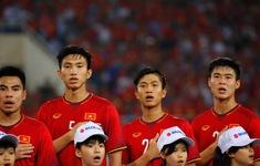 CHÍNH THỨC, Đội hình xuất phát ĐT Việt Nam: Đức Chinh, Huy Hùng đá chính