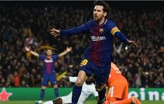 Messi ghi ít nhất 40 bàn trong mỗi 9 mùa gần nhất