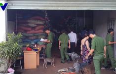 Vụ vỏ cà phê trộn sỏi và nhuộm  bột pin tại Đắk Nông: Công an đã thu giữ 3 tấn hàng hóa