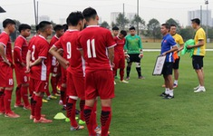 ĐT U19 Việt Nam trở về nước sau giải giao hữu Suwon JS Cup 2018