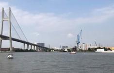 Hoàn tất việc trục vớt sàn lan chìm dưới chân cầu Phú Mỹ