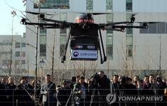 """Hàn Quốc """"thả"""" máy bay không người lái tìm nhà máy gây ô nhiễm"""