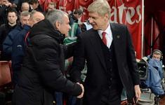 Bất chấp quá khứ, Mourinho luônT dành sự tôn trọng cho Wenger