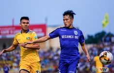 ẢNH: SLNA và Becamex Bình Dương cầm chân nhau tại vòng 6 V.League