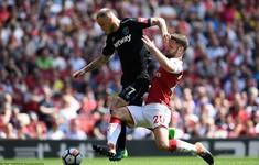 TRỰC TIẾP BÓNG ĐÁ Arsenal 1-0 West Ham (H2): Monreal mở tỷ số