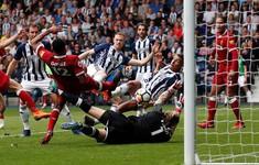 VIDEO tổng hợp trận đấu West Brom 2-2 Liverpool