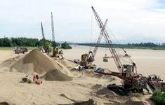 Khai thác cát ảnh hưởng đến dòng chảy và công trình giao thông