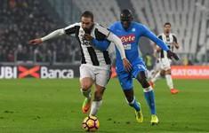 Lịch thi đấu bóng đá tối 22, rạng sáng 23/4: Tâm điểm Juventus đối đầu Napoli