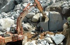 Xử lý vi phạm khai thác đá trái phép tại núi Thừa, Bình Thuận