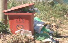 Đà Lạt: Rác thải, vật tư nông nghiệp tràn ngập các bể chứa chờ thu gom