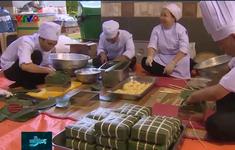 Lần đầu tiên tổ chức thi nấu bánh chưng dâng vua Hùng tại TP.HCM